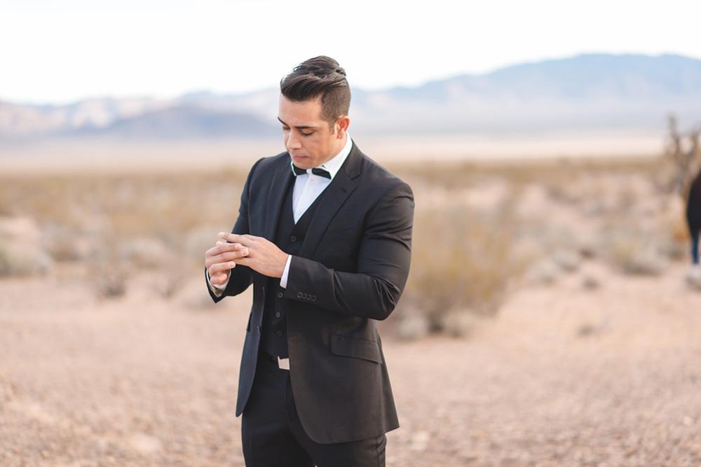 latino groom