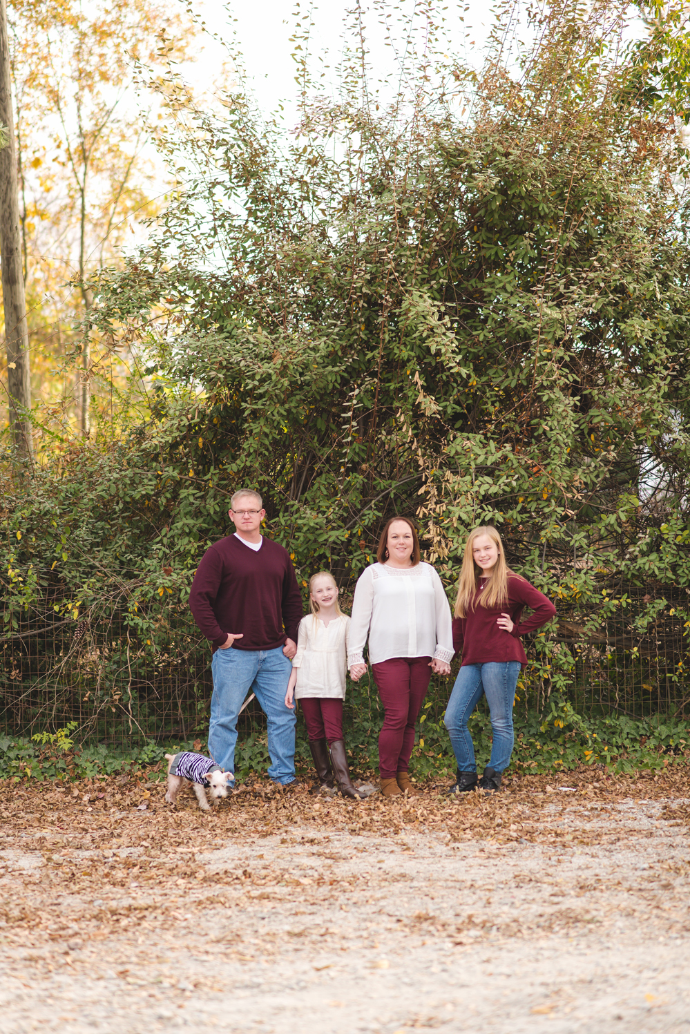downtown simpsonville family session