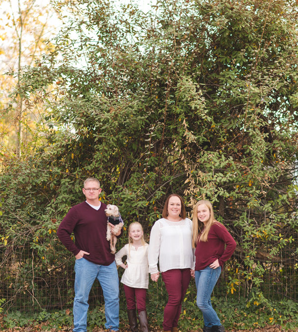 downtown simpsonville family session | hillyard
