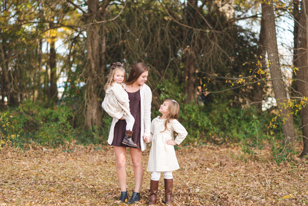 older sister with half sisters