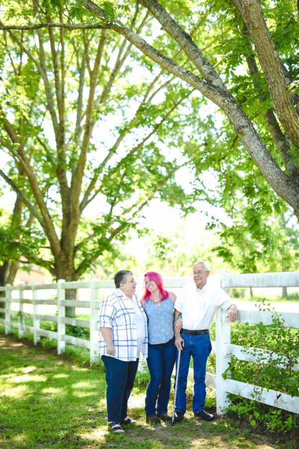 family session on family horse farm | hopkins, sc