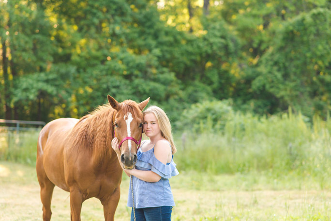 photography with horse