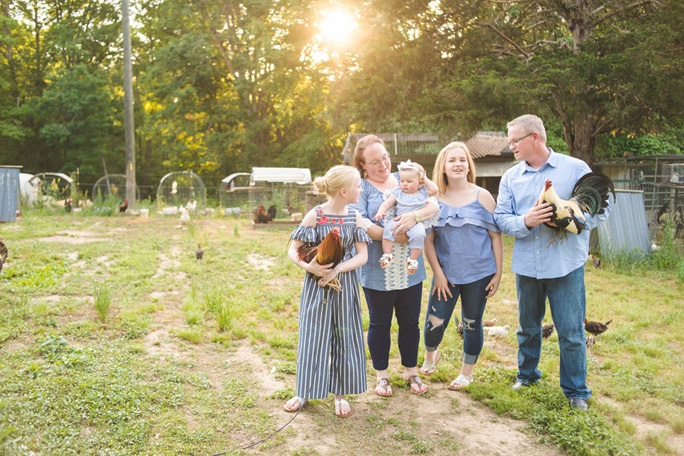 homestead family session