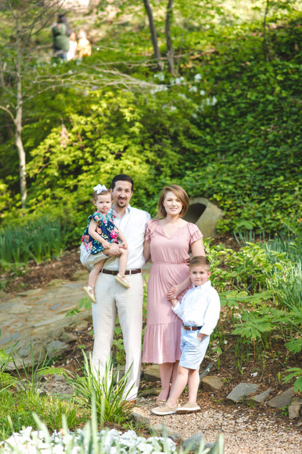reedy falls park family session | greenville, sc
