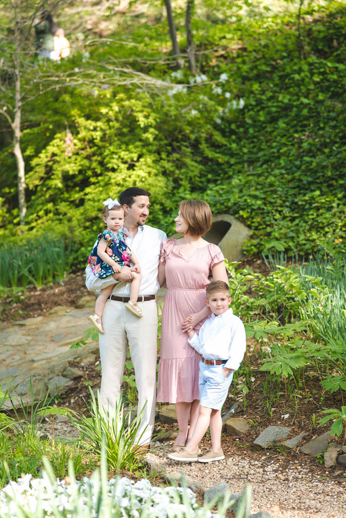 reedy falls park family session
