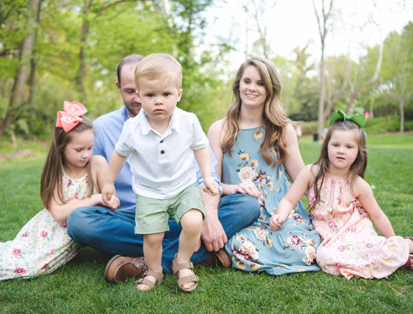 falls park family session | greenville, sc | goolsby