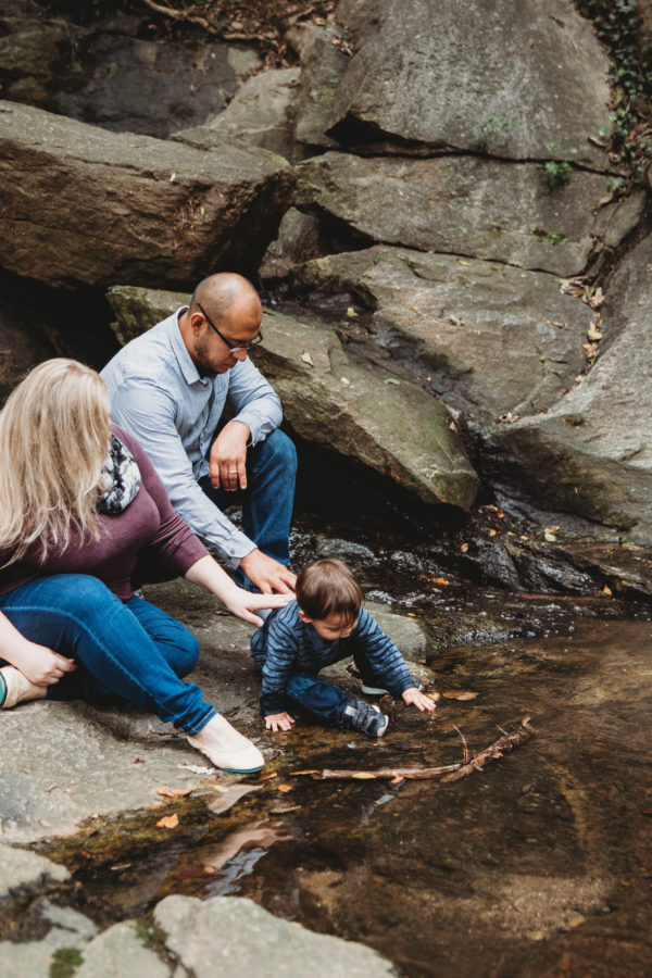 downtown greenville family session | diaz