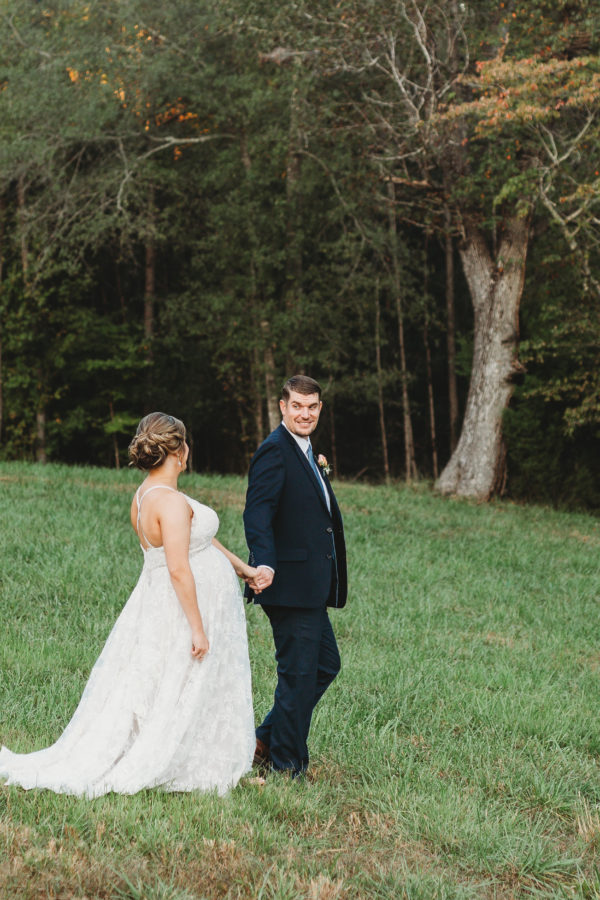 rock bottom pond fall wedding | smoak