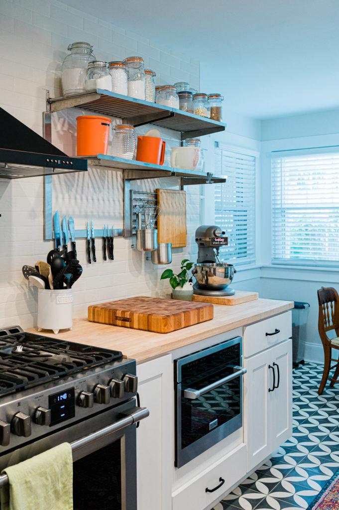 utilitarian kitchen