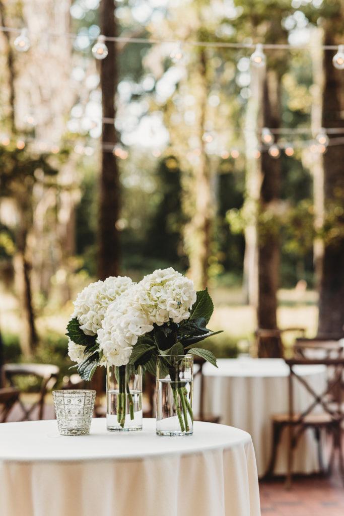 simple hydrangeas for wedding