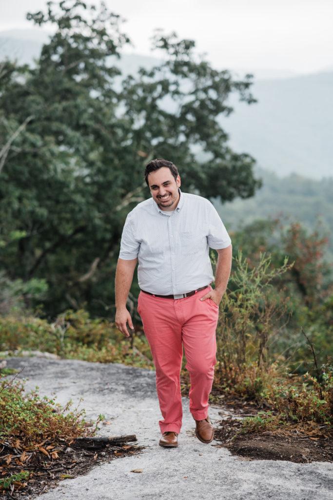 mens styling for family photos, vineyard vine